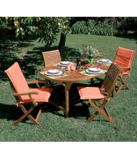 Tavolo E Sedie In Legno Da Giardino.Tavoli E Sedie In Legno Arredo Giardino Luxurygarden