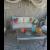 Set salotto divano 2 posti da giardino in alluminio Buffalo