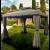 Gazebo da giardino in alluminio cm. 300x400 con zanzariere e airvent Alicante