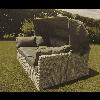 Chaise Longue In rattan Adisa