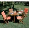 tavolo 6 posti da giardino in legno balau