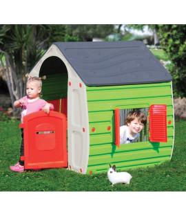 Casetta per bambini gioco da esterno cm. 102x90x109