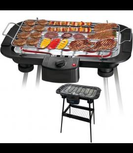 Griglia Elettrica Barbecue Bistecchiera da Tavolo con Piedi e Termostato Regolabile 2000 W – 38x22x63