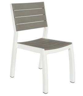 Set 4 sedie da giardino in polipropilene effetto rattan Andrew