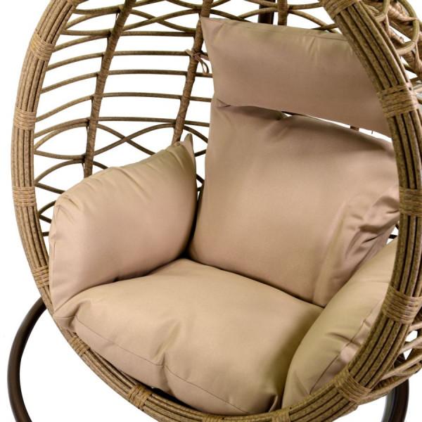 dettaglio cuscini seduta sospesa amaca da esterno