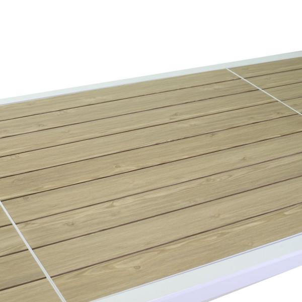 dettaglio ripiano effetto legno