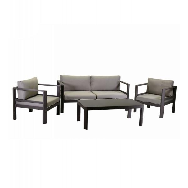 Set divani in alluminio Luxurygarden