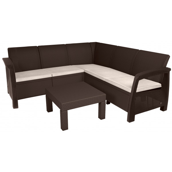 salotto divani in polipropilene aron