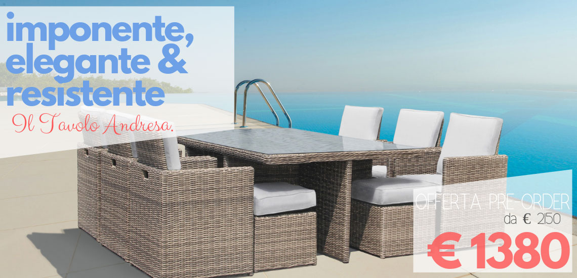 Tavoli E Sedie Da Giardino In Metallo.Tavoli E Sedie Da Giardino Online Prezzi E Occasioni